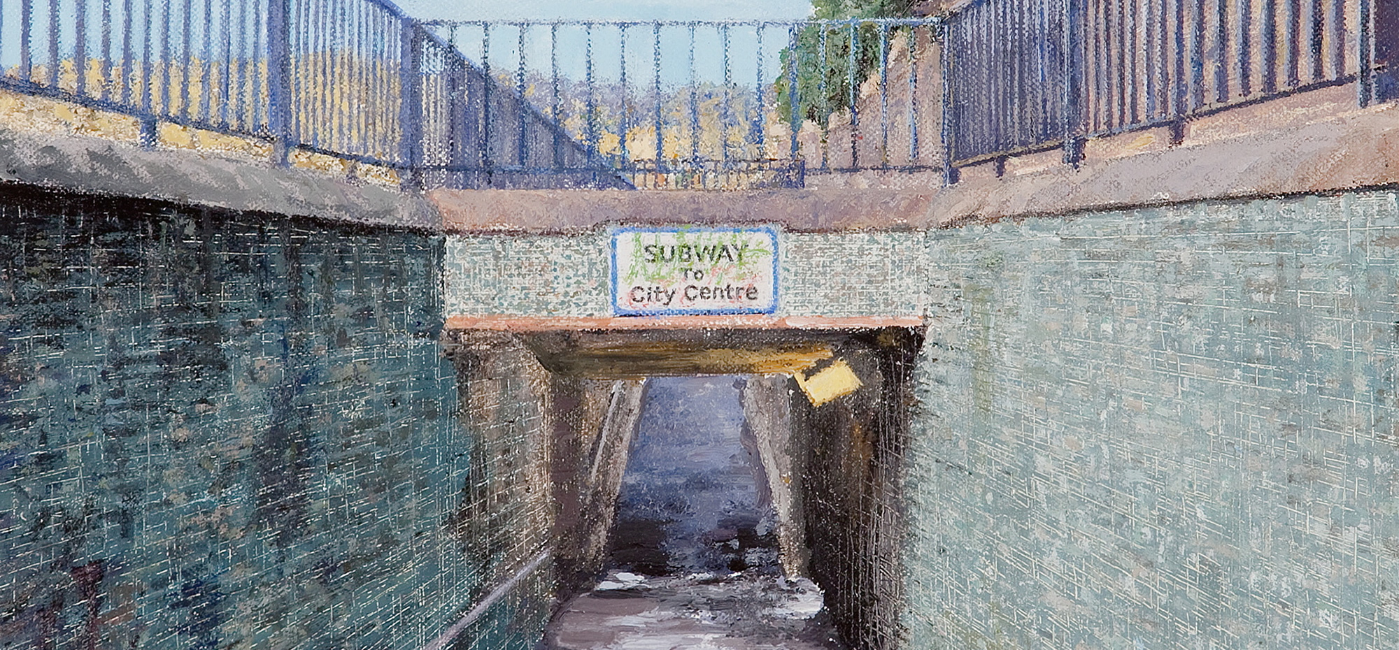 Subway one - Simon Hopkinson Art1
